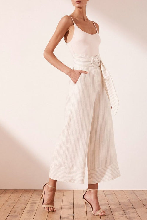 Isadora Culottes with Belt