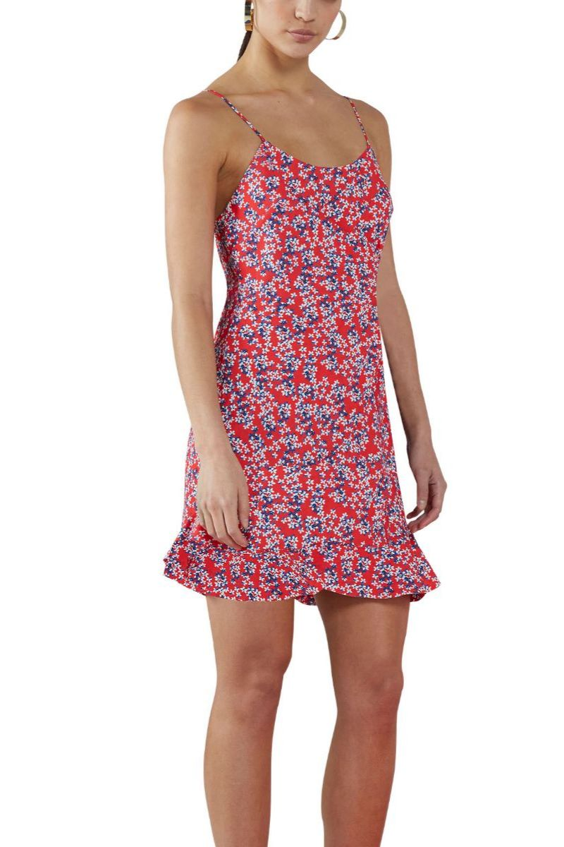 Blossom Flounce Mini Dress