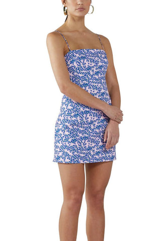 Hayes Wrap Mini Dress