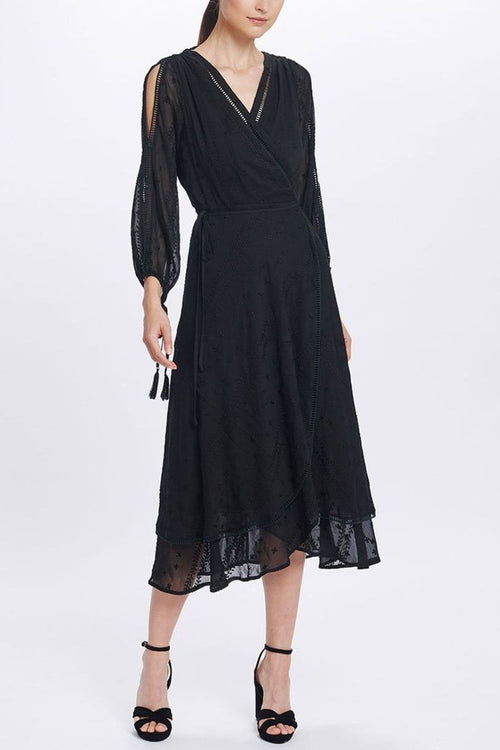 Coco Split Sleeve Midi Dress