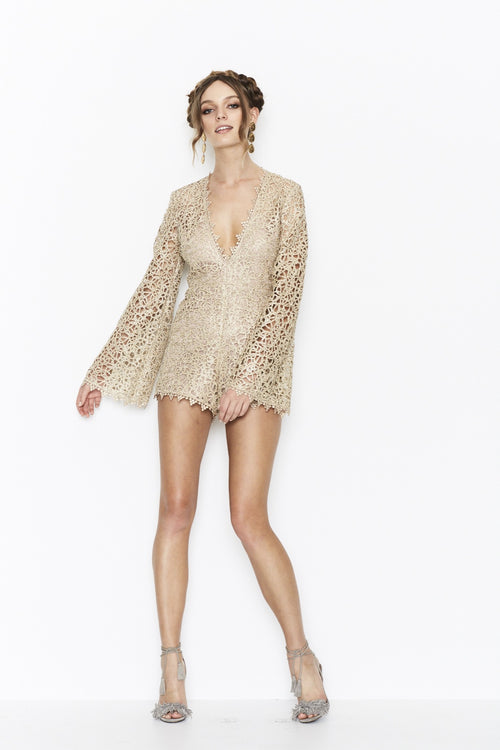 Gold Digger Playsuit