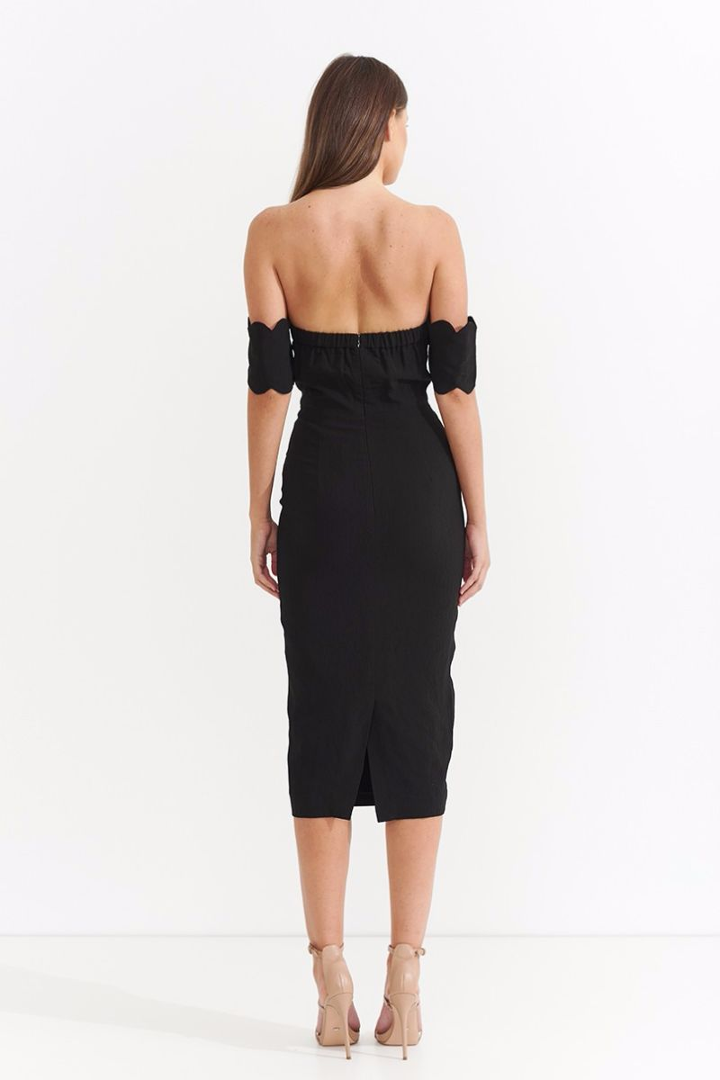 Dark Nights Strapless Dress