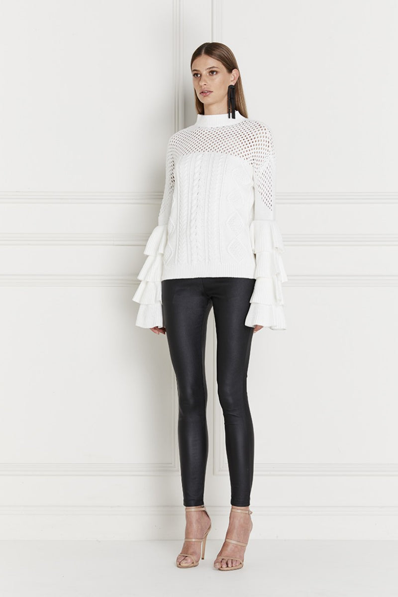 Sabran Layered Sleeve Sweater