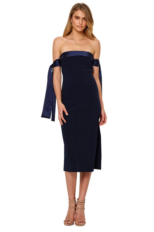 Bon Marche Tie Dress