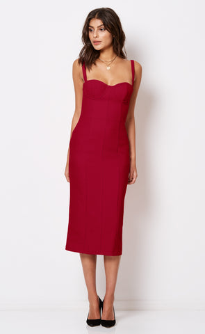 Hibiscus Islands Midi Dress