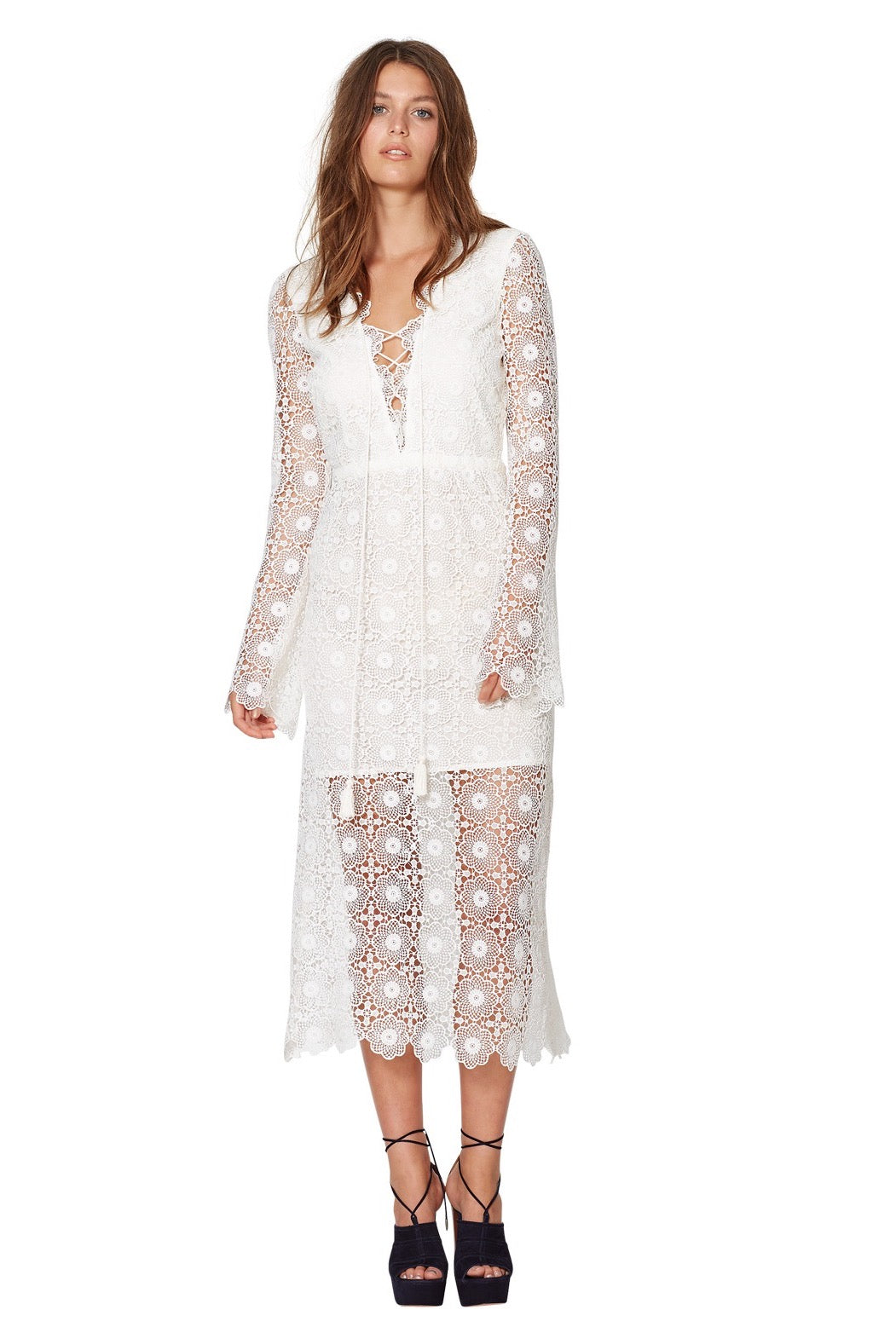 Daisy Chain Long Sleeve Dress