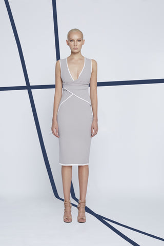 Shoe String Angle Shift Dress