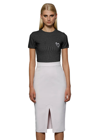 Sasha Metal Mesh Top