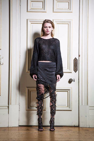 Mixed Metal Skirt