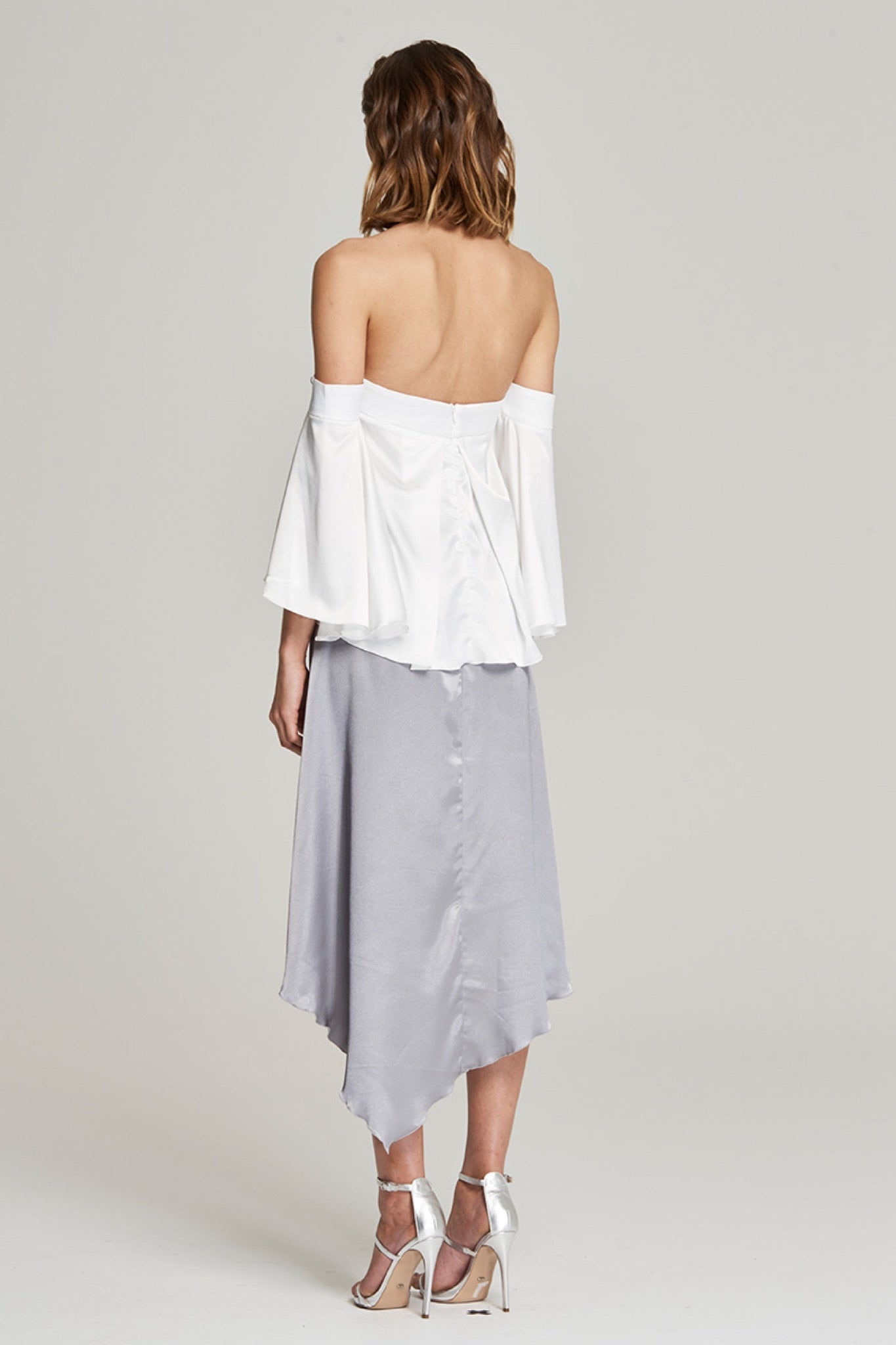 Love Awake Skirt - Silver