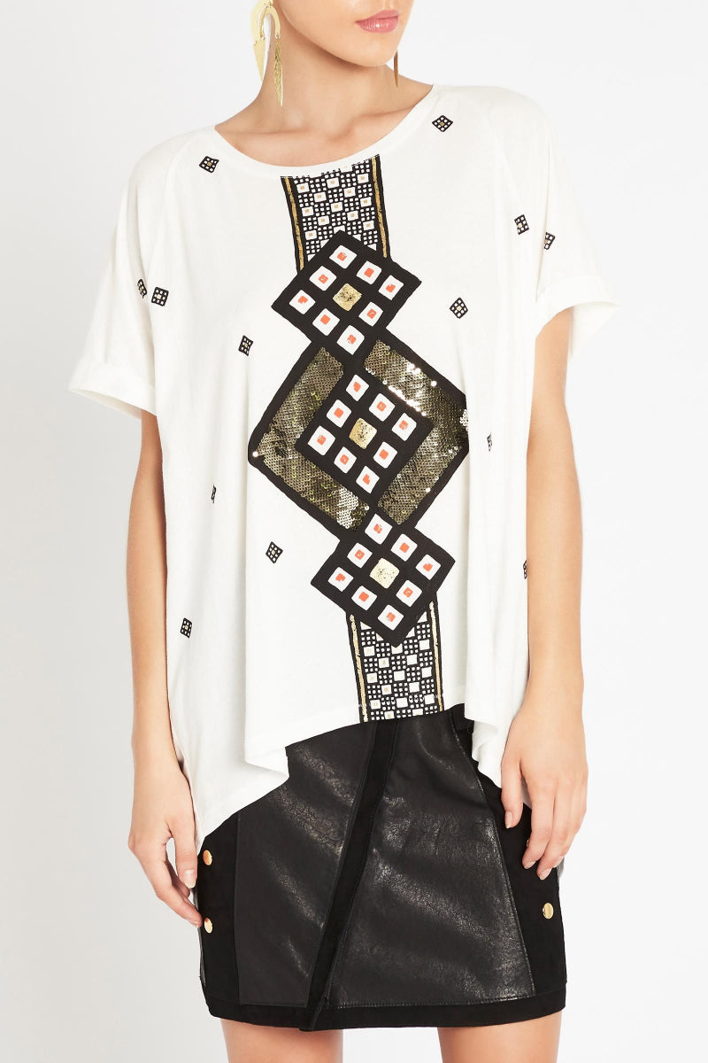 For The World Embellished Tee