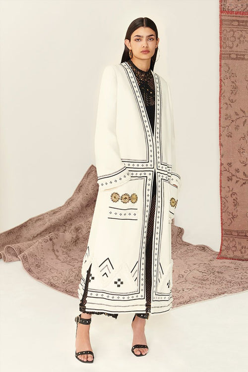 Set On You Embroidered Coat