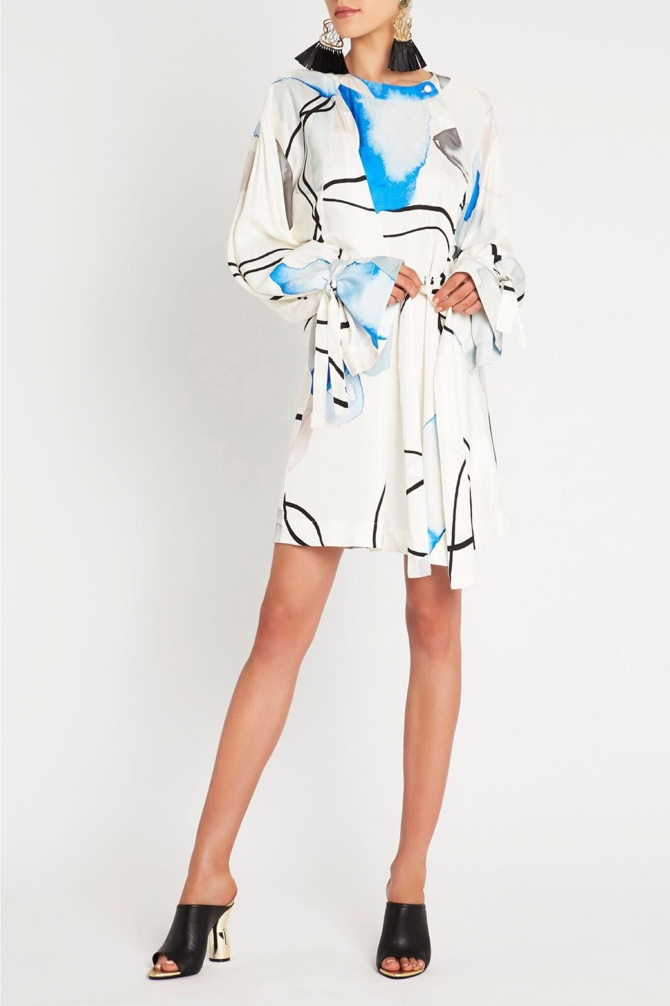 The Abstract Mini Dress