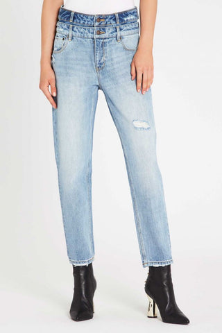Magical Mystery Sequin Boyfriend Jeans