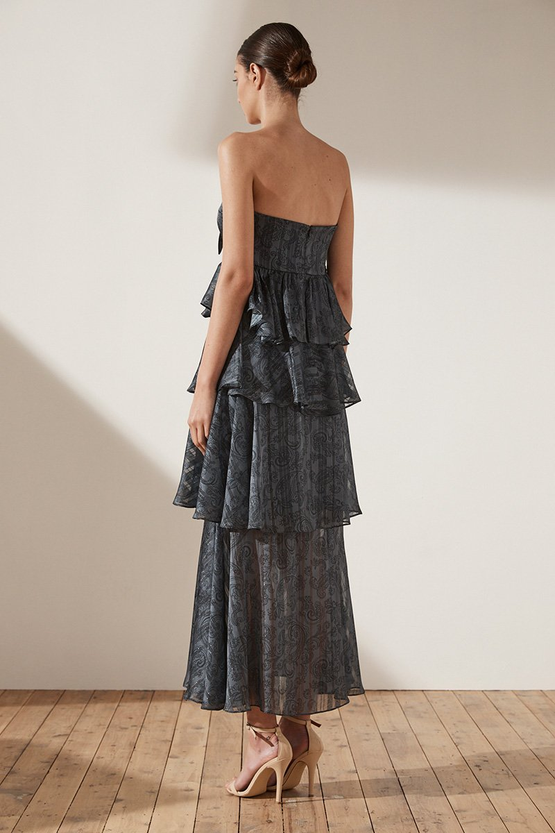 Marea Tiered Maxi Dress
