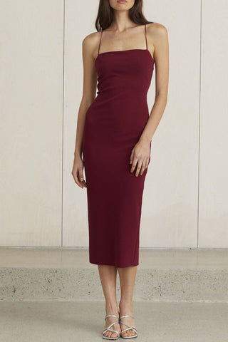 Demy Frill Collar Bodycon Dress