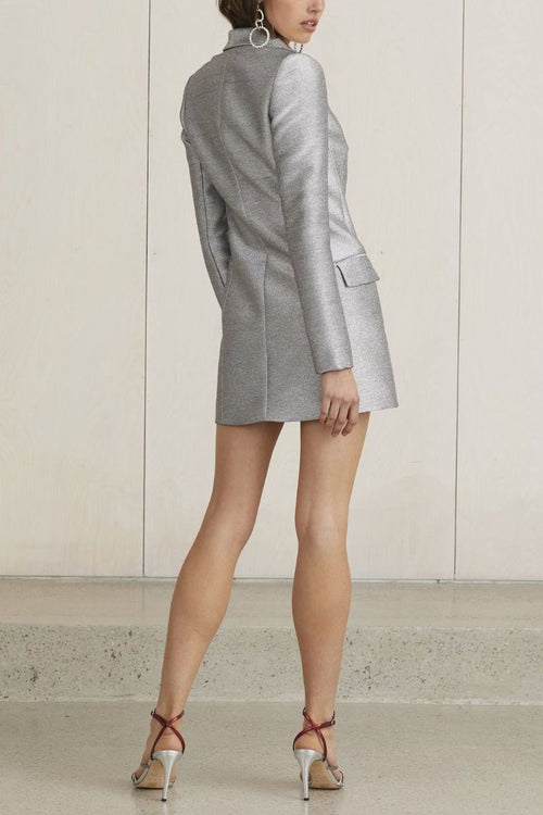 Lady Sparkle Blazer Dress