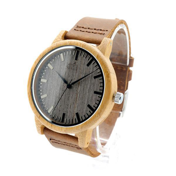The Grey Grain | Bamboo Watch