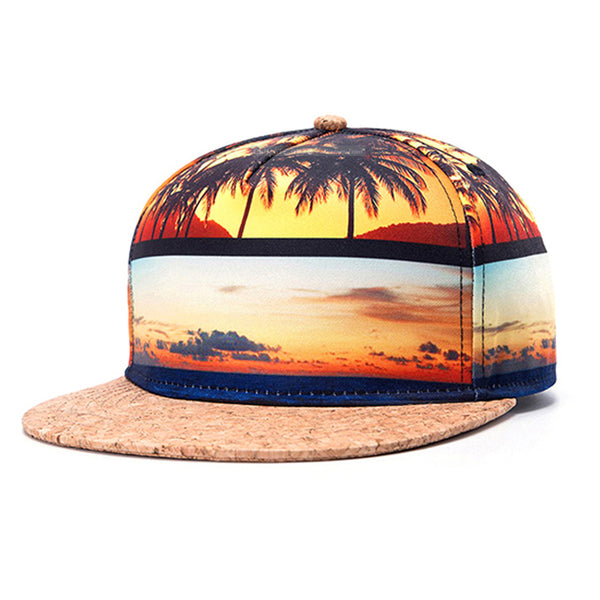The Tropics | Cork Brim Hat