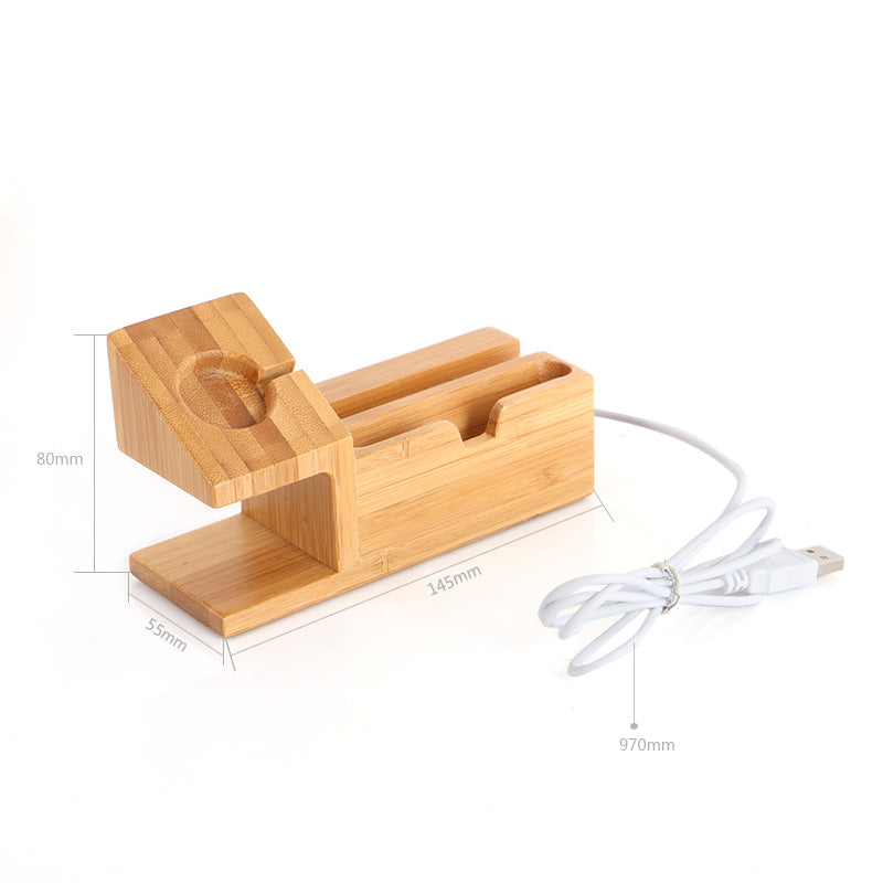 The Mini | Bamboo Charging Dock