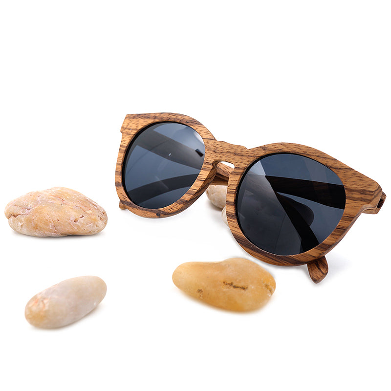 Pure | Zebrawood Sunglasses