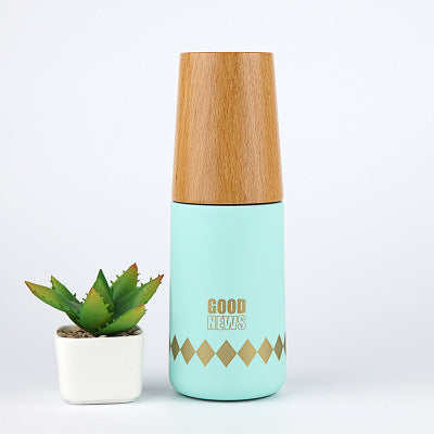 Good News | Wooden Vacuum Thermos