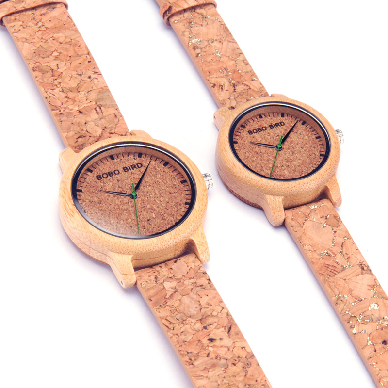 The Cork | Bamboo & Cork Watch
