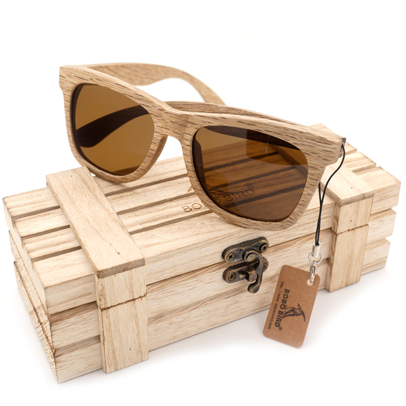 The Grain | Wooden Sunglasses