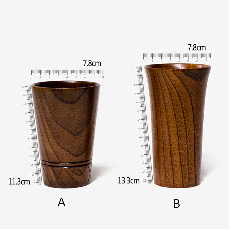 Stir the Grain | Japanese Wooden Cup