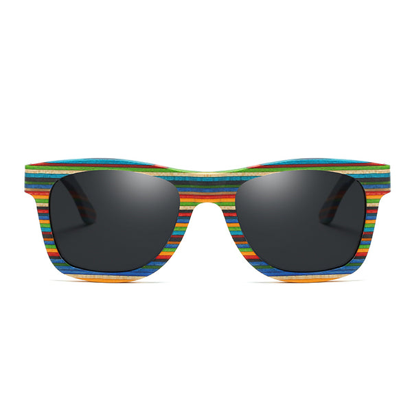 The Rainbow | Bamboo Sunglasses