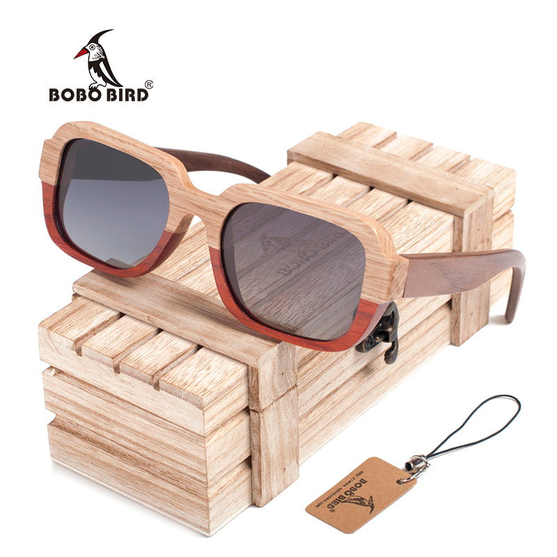 The Split | Bamboo Sunglasses