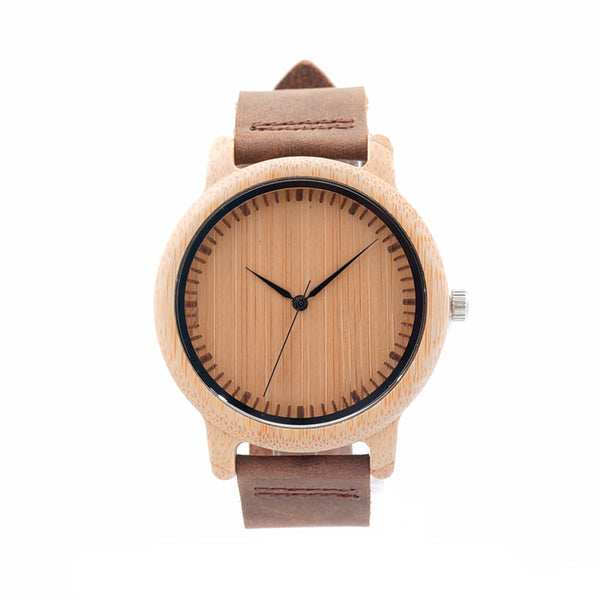 The Tan Grain | Bamboo Watch
