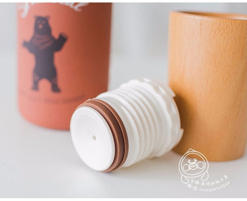 Inner Animal | Wooden Vacuum Thermos