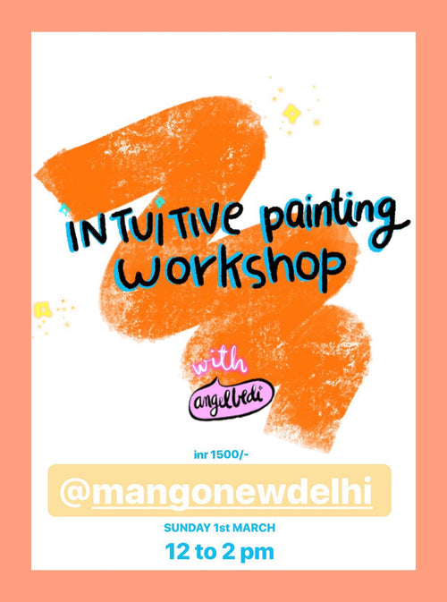 INTUITIVE PAINTING WORKSHOP - 1march 2020
