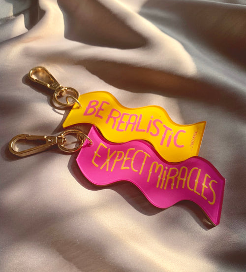 MIRACLE WAVE KEYCHAIN