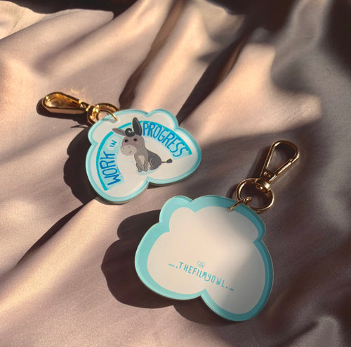 DONKEY CLOUD KEYCHAIN