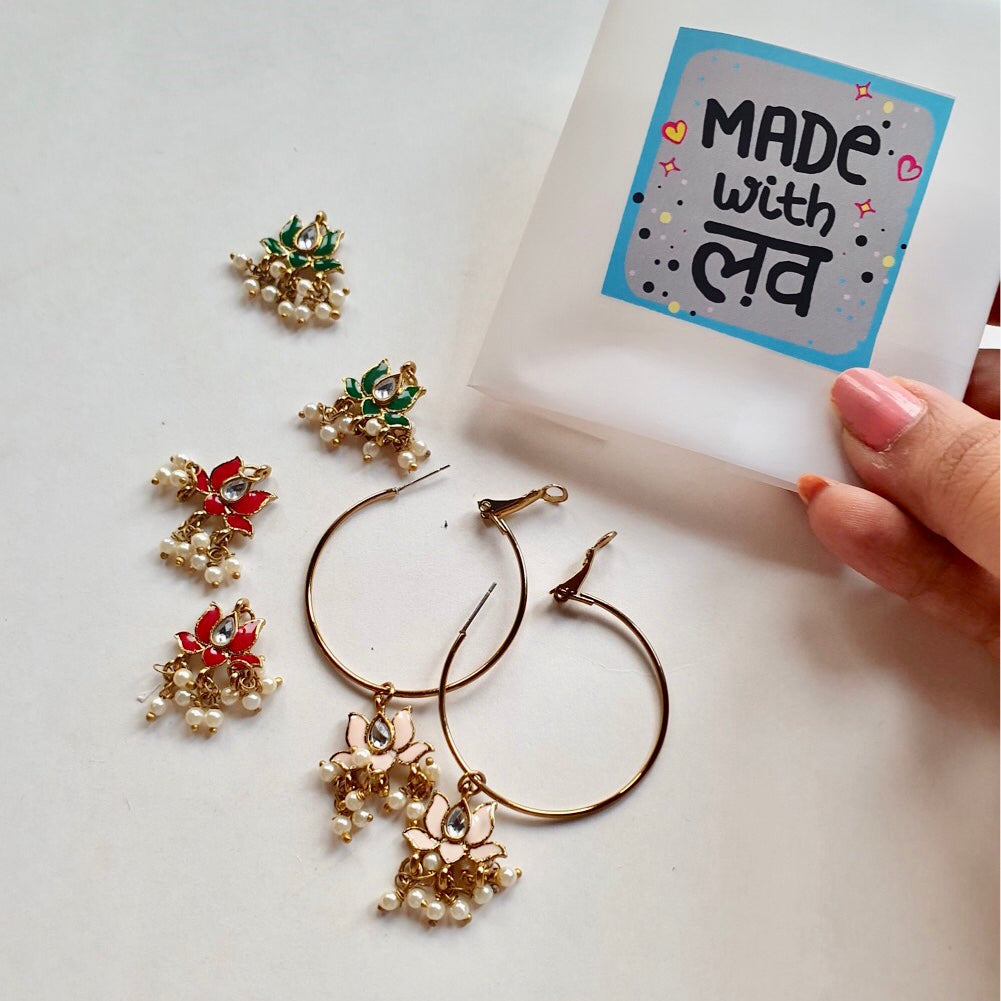 DIWALI LOTUS HOOPS