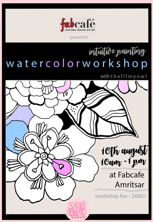 WATERCOLOR WORKSHOP - august2019