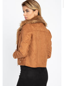 """Faux-Ever Fabulous"" Jacket"