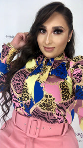 """Cheetah Girl"" Blouse"