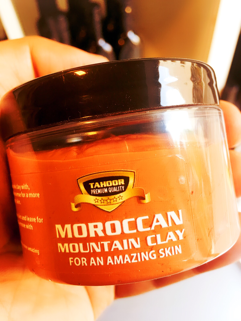 Moroccan Clay face mask