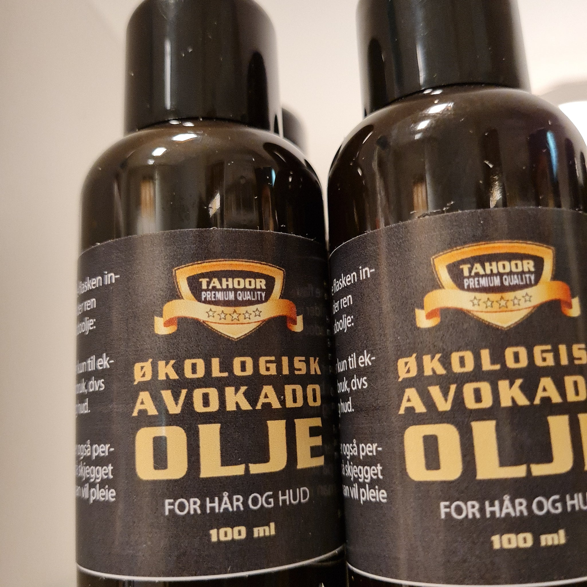Økologisk avokadoolje for hår og hud (100ml)