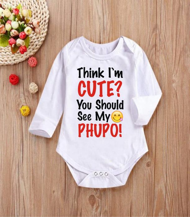 Think I am cute? You should see my phupo!