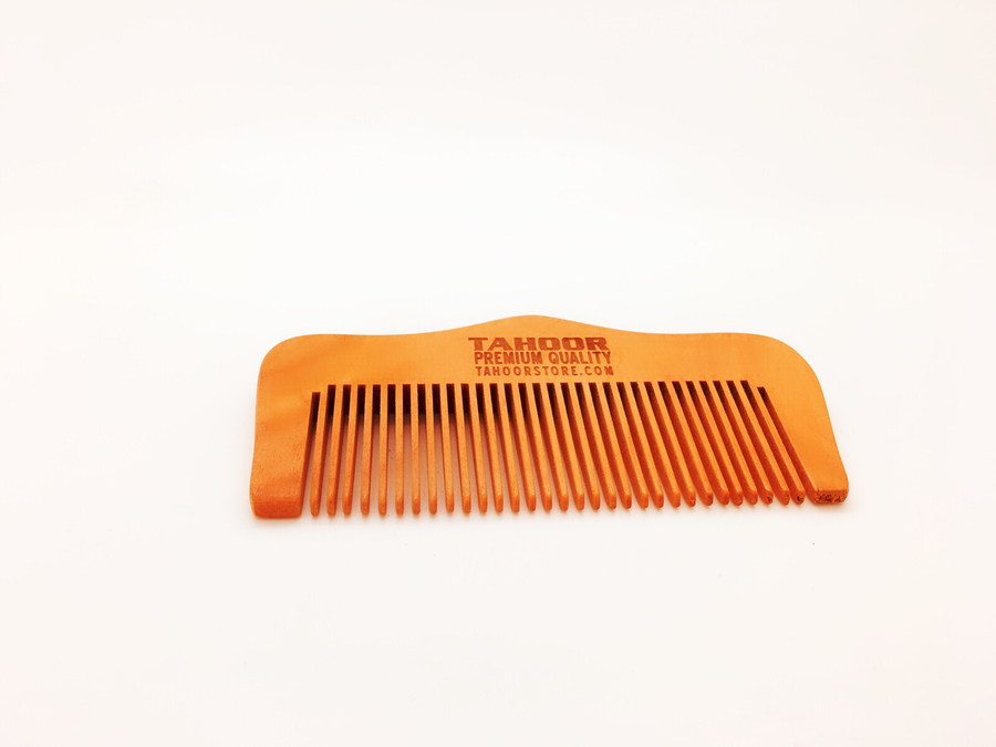 Premium Beard Comb made out of apricot tree