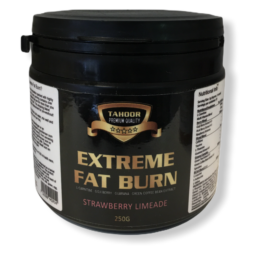 Extreme Fat burn (strawberry flavor) 250g