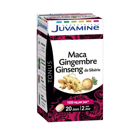 Maca, ginger and ginseng (40 tablets)
