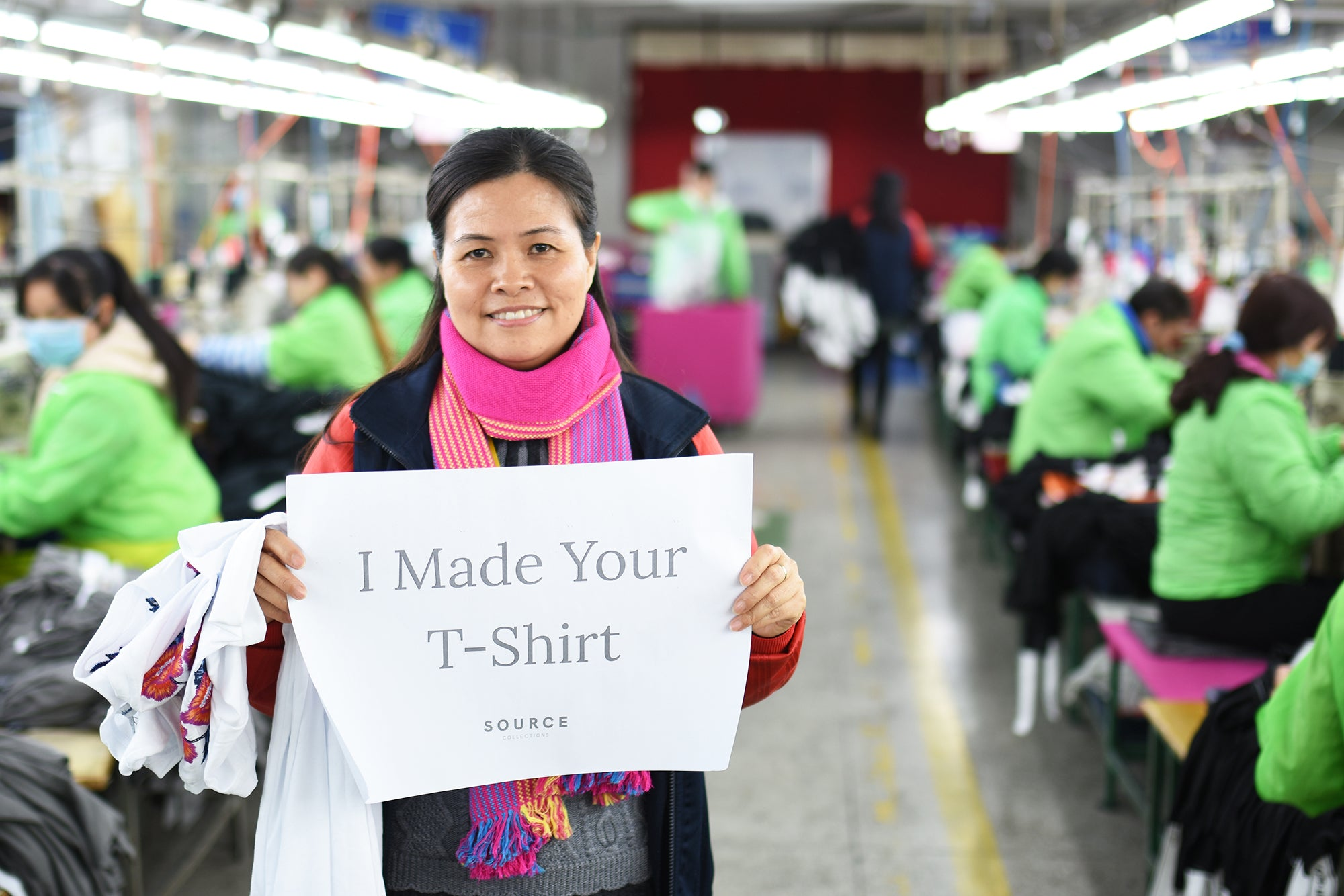 premium basics garment worker china production manager