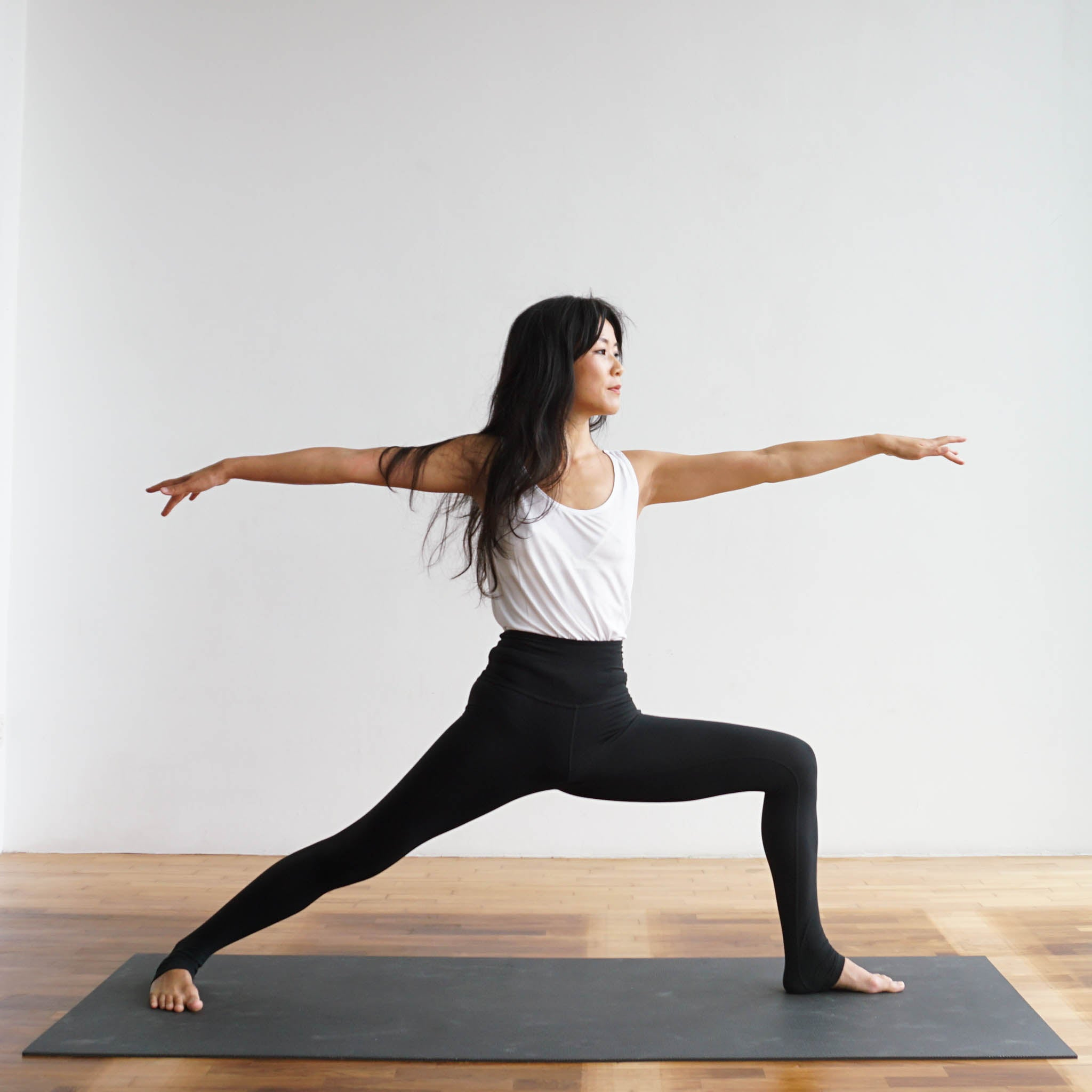 Malvina Kang in Hom Yoga Studio