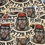 """Staten Island Pizza Pie"" Vinyl Sticker"