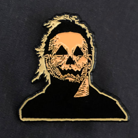 Mike-O-Lantern Enamel Pin